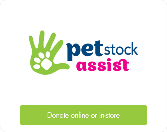 PETstock Assist - Donate online or in-store