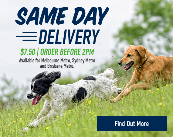 Same Day Delivery - $7.50. Order before 2pm. Available for Melbourne Metro, Sydney Metro & Brisbane Metro. Click here to find out more.