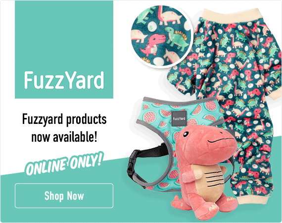 FuzzzYard products now available - Online Only