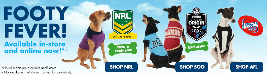 Footy Fever at PETstock