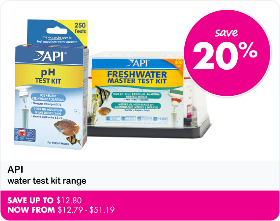 API water test kit range save 20%