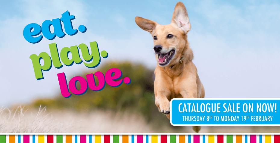 Eat.Play.Love! PETstock February Catalogue Sale Now On!
