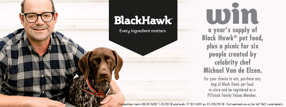 March 2018 Black Hawk Competition - Win a years supply of Black Hawk plus a picnic for 6 people created by celebrity chef Michael Van de Elzen