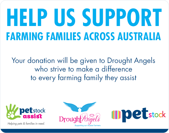 Help Us Support Farming Families Across Australia - Your donation will be given to Drought Angels who strive to make a difference  to every farming family they assist
