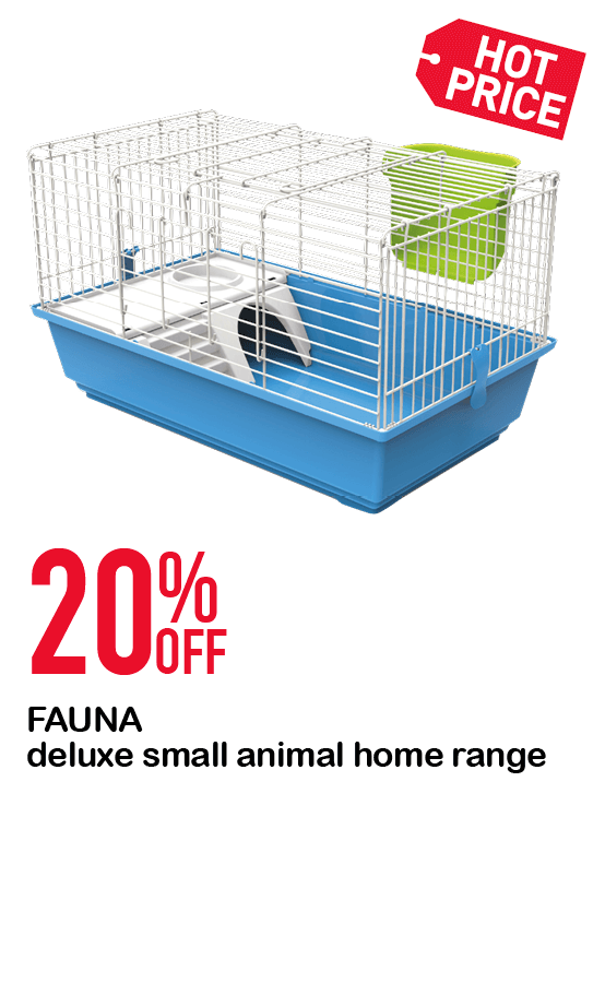 FAUNA deluxe small animal home range  20%OFF