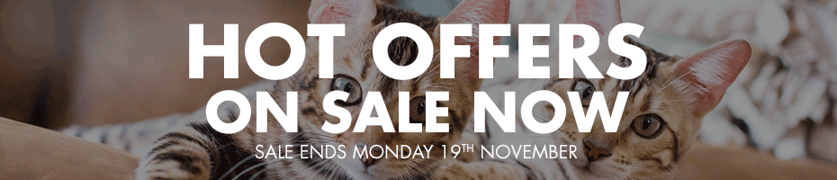 HOT OFFERS ON SALE NOW - Sale ends Monday 19th November