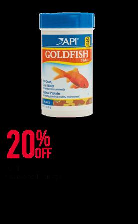 API fish food range - 20% OFF