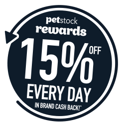 Premium Food, Flea & Tick Treatments - 15% OFF every day in brand cash back!*