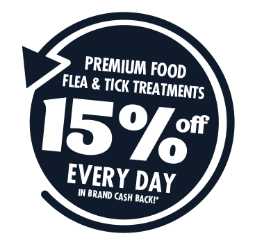 PETstock Rewards 15% OFF Every Day Premium Flea & Tick Treatments