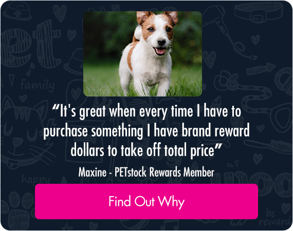 It's great when every time I have to purchase something I have brand reward dollars to take off the total price. Maxine - Petstock Rwards Member. Find out why