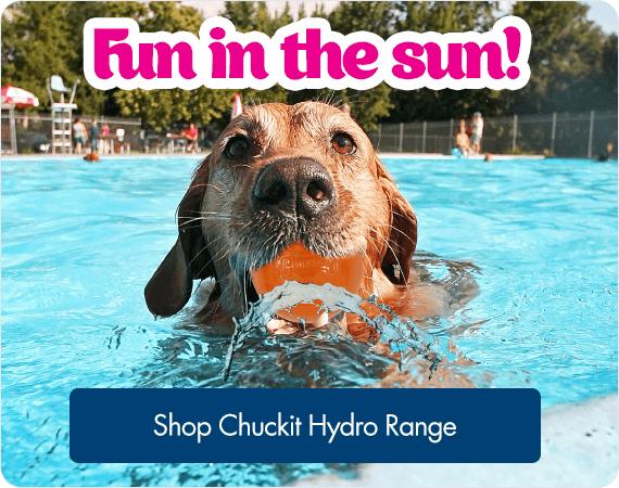 Fun in the sun! Shop Chuckit Hydro Range