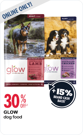 30% Off Glow dog food online only
