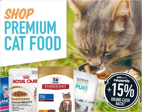 Shop Premium Cat Food