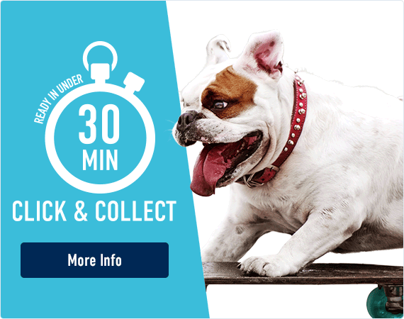 30 Minute Click and Collect - Find out More!