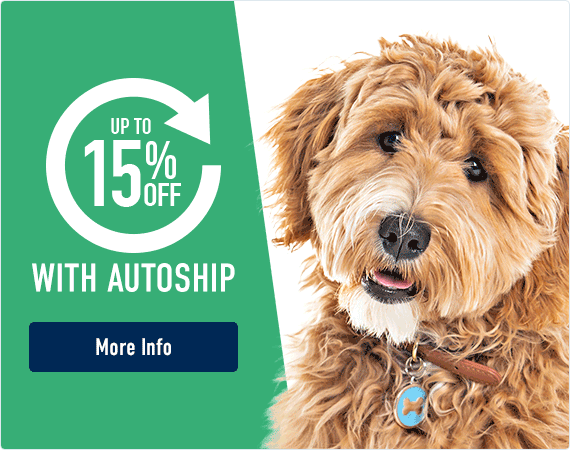 Receive up to 15% off with Autoship - Find out More!