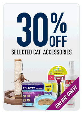 30% OFF cat products