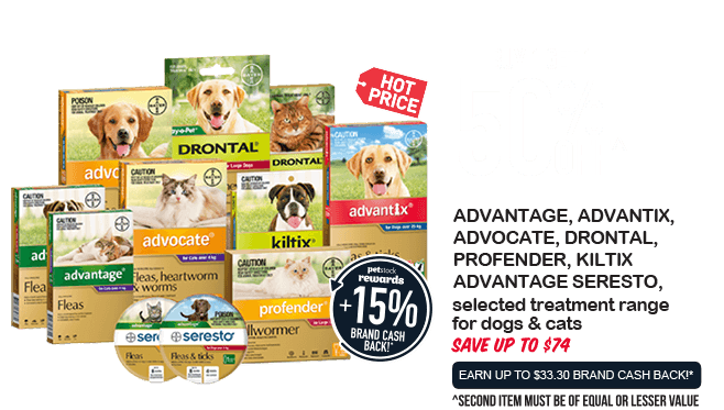 dvantage, Advantix, Advocate, Drontal, Profender, Advantage Seresto & Kiltix - Buy 1 Get 1 50% Off!