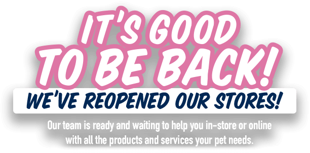 Zero Fuss! Zero Contact Click & Collect and Home Delivery. Zero Contact Click & collect has resumed at all PETstock stores. If you have any issues ordering what you need, please phone your nearest PETstock store.