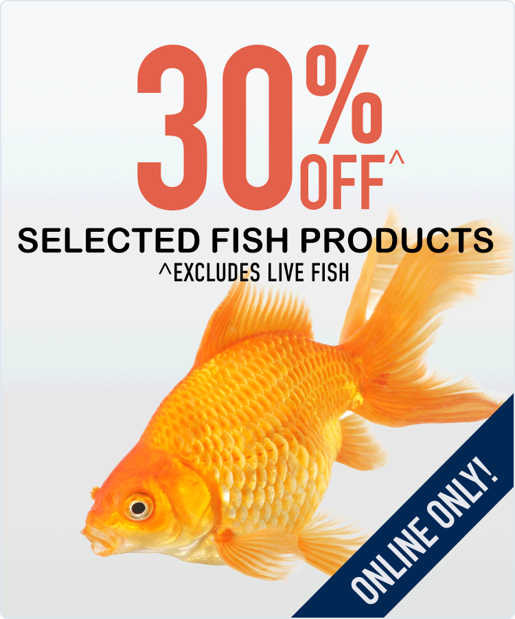 30% Off Fish Products