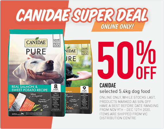 Canidae Super Deal - Online Only - 50% OFF Canidae selected 5.4kg dog food