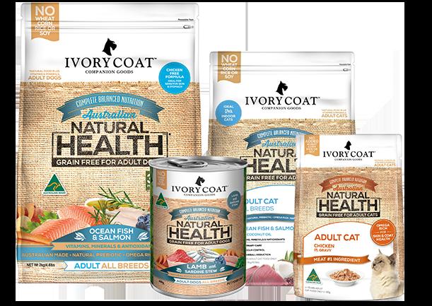 25 % OFF IVORY COAT super premium dog & cat food range