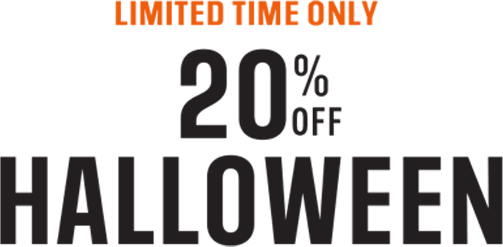 20% Off - Halloween! Limited time only!