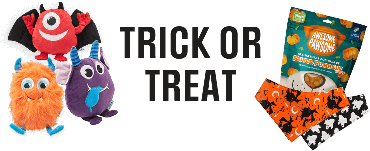 Exclusive to PETstock. Trick or Treat! New Halloween range available now!